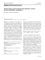 16301-0 - climate adaptation.