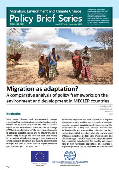 policybrief5 - climate adaptation.
