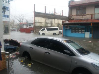 Aftermath of Yolanda in Tacloban, Philippines