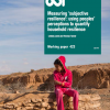 Image of Measuring 'subjective resilience': using peoples' perceptions to quantify household resilience working paper front cover