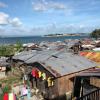 Barangay Anibong in Tacloban (Philippines), hit by Super Typhoon Yolanda on 8 November 2013 - 7-metre high storm surges and wind speeds of 315 km/hour. Photo: Albert Salamanca/SEI