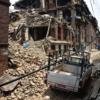 Earthquake in Bhaktapur, Nepal. Photo: Sonny Inbaraj